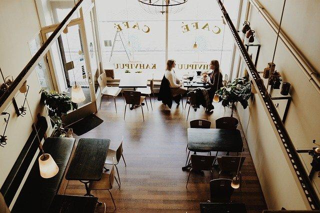 locate closest cafe